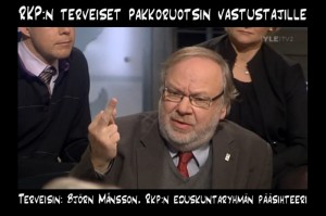 Pakkoruotsi edistää lähinnä ruotsinkielisten kilpailukykyä suomenkielisiin nähden.