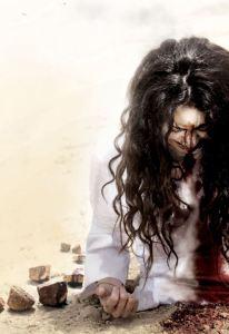 Kuva on elokuvasta Stoning of Soraya M. Elokuva perustuu valitettavasti tositapahtumiin.